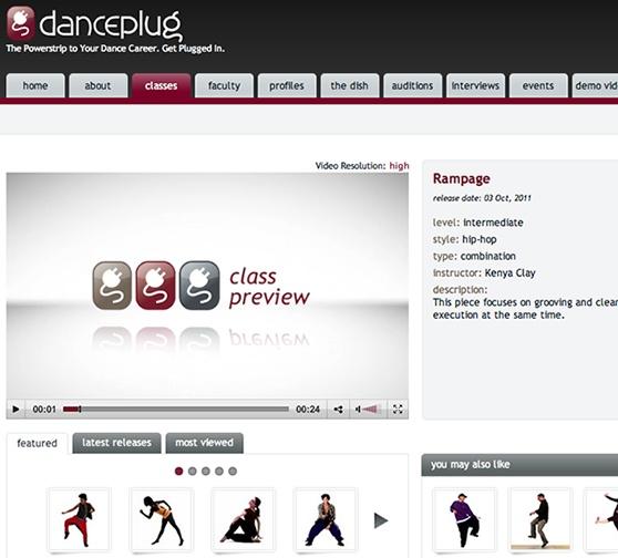 Danceplug Classes Home