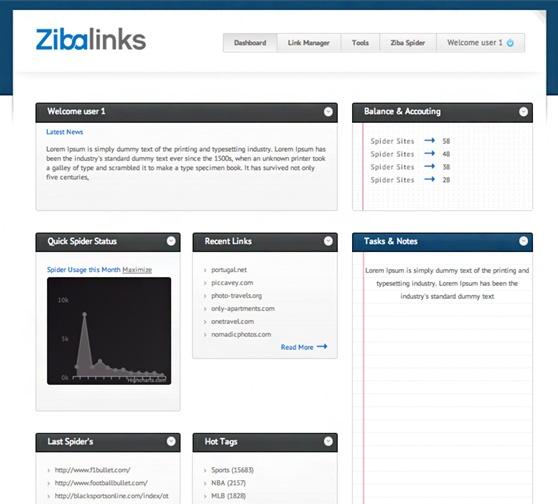 Zibalinks App